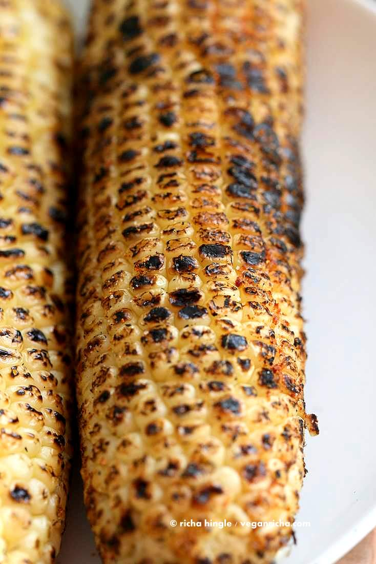 Indian roasted corn on the cob street style butta or bhutta indian roasted corn on the cob street style butta or bhutta recipe vegan richa ccuart Image collections