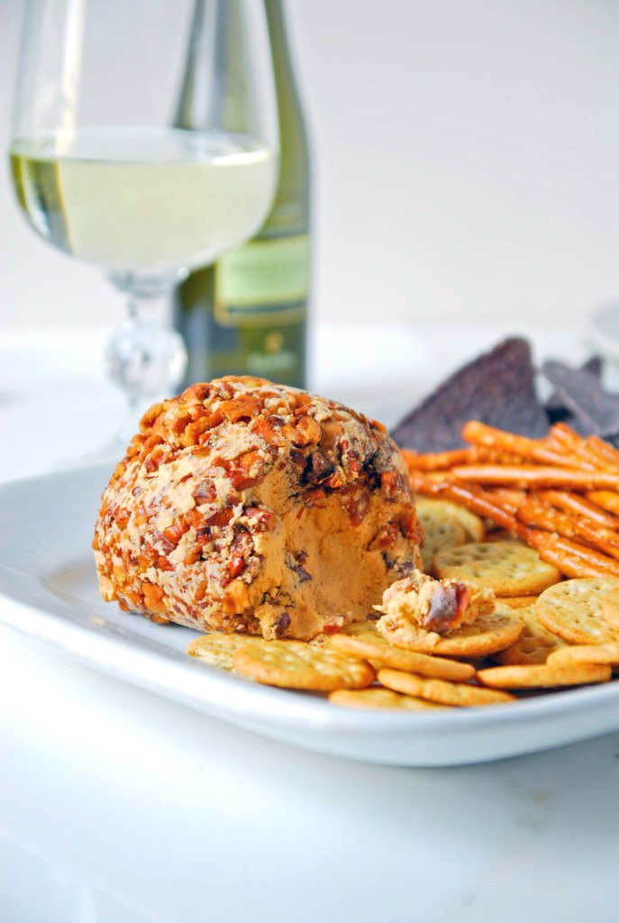 Sriracha Lime cheese ball