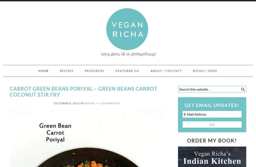 How to Start a food blog | VeganRicha.com