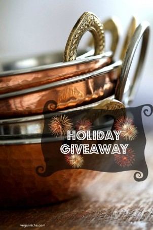 Vegan Richa's Holiday Giveaway!