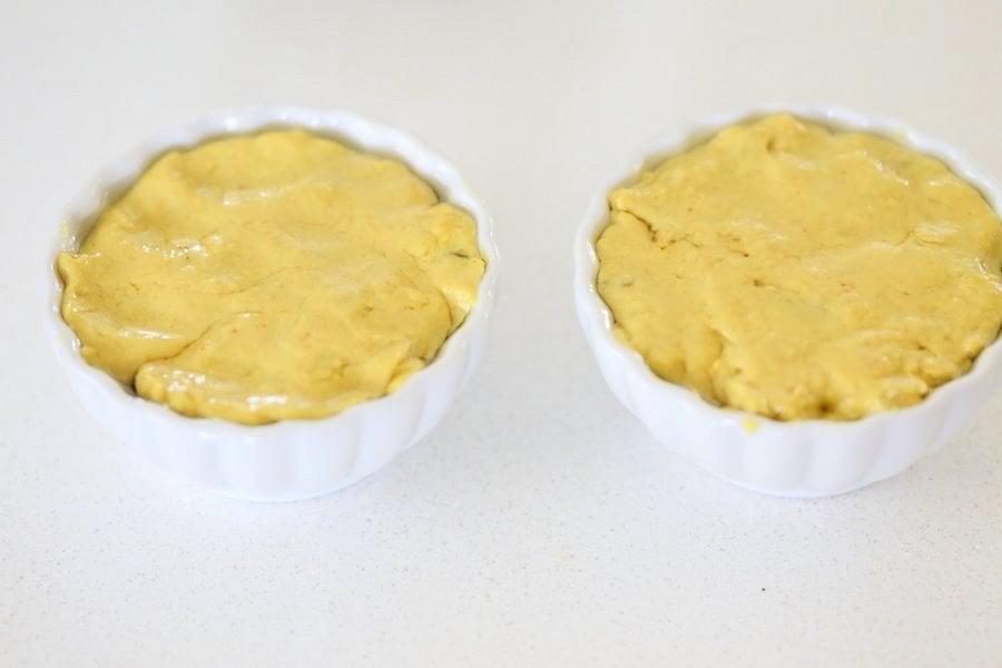 Vegan Cheese Ball. Nut-free Cheddar Cheese ball for Halloween. Shape like pumpkin or make a Jack o lantern. | VeganRicha.com #Vegan #Cheese #Recipe #dairyfree #soyfree