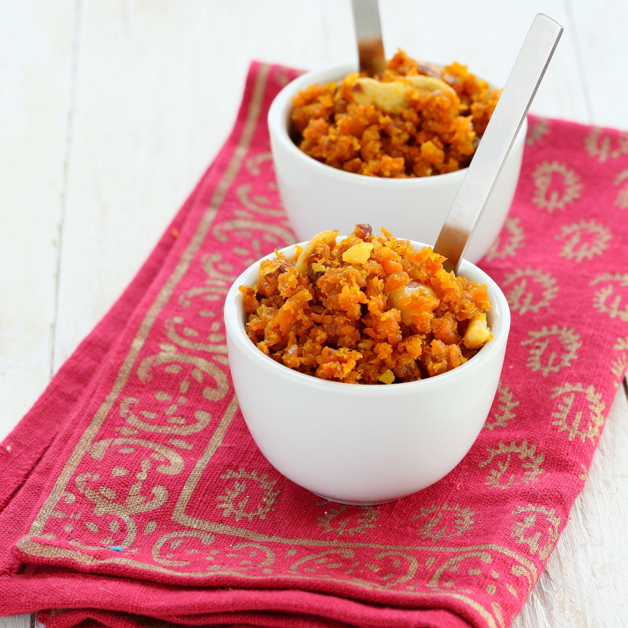 Dessert-Carrot Halwa 9025 - Vegan Richa