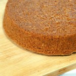 Vegan Sponge Cake Recipe . This Sponge Cake is whole grain, soft, moist and easy. Add vanilla or zest of choice. Makes amazing layer cakes. Makes two skinny 8 inch pans. Free of Dairy, egg, yeast, nut. Can be made corn-free. | VeganRicha.com