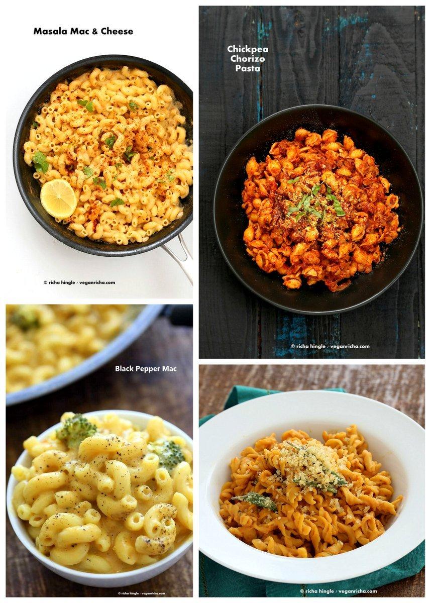 Vegan Holiday Sides Recipes | VeganRicha.com #vegan #maccheese #pasta #vegan #recipe