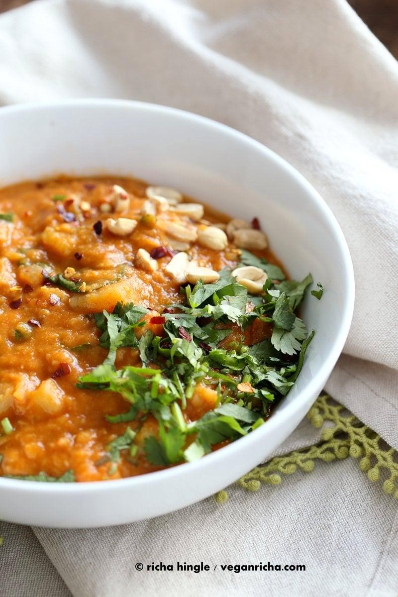 African peanut lentil soup vegan richa african peanut lentil soup african peanut stew with lentils and veggies veganricha forumfinder Gallery
