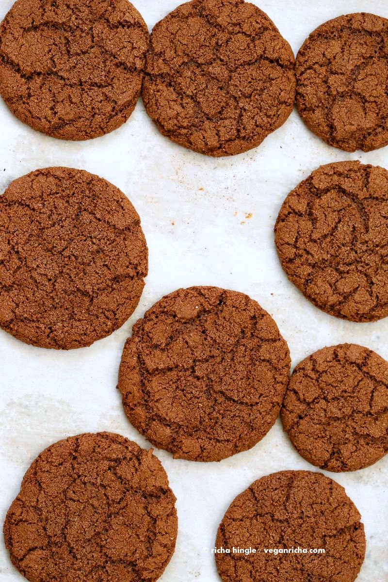 how to make ginger cookies without molasses