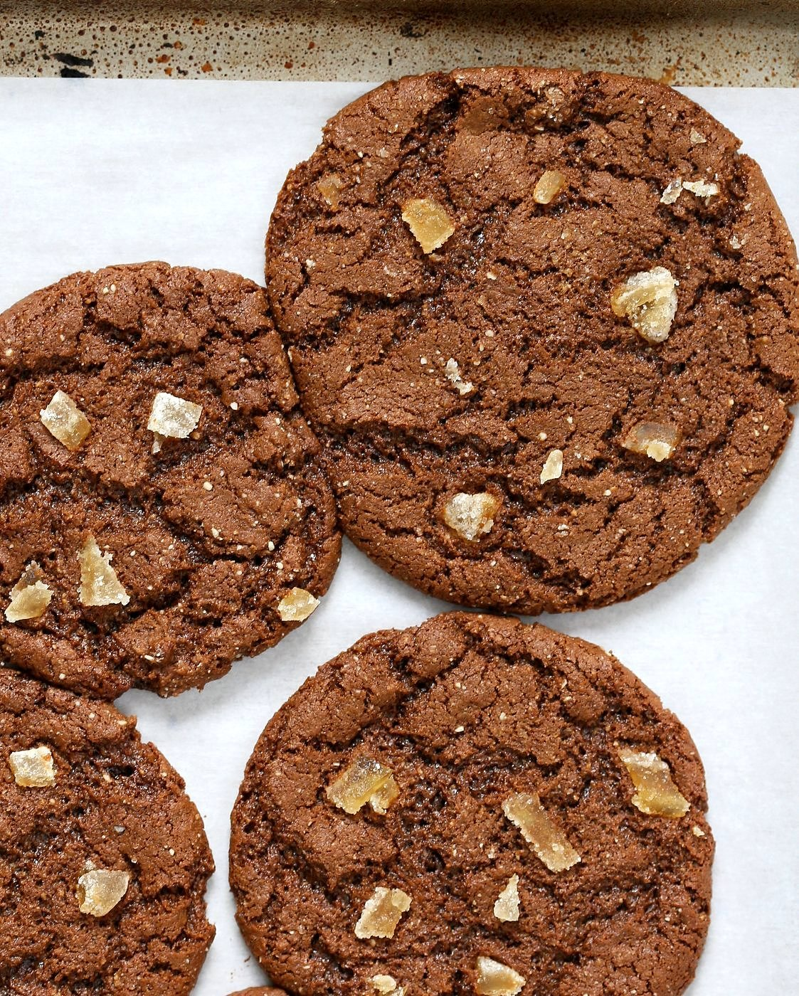 1 Bowl Molasses Cookie - Wheat | VeganRicha.com #vegan #cookie