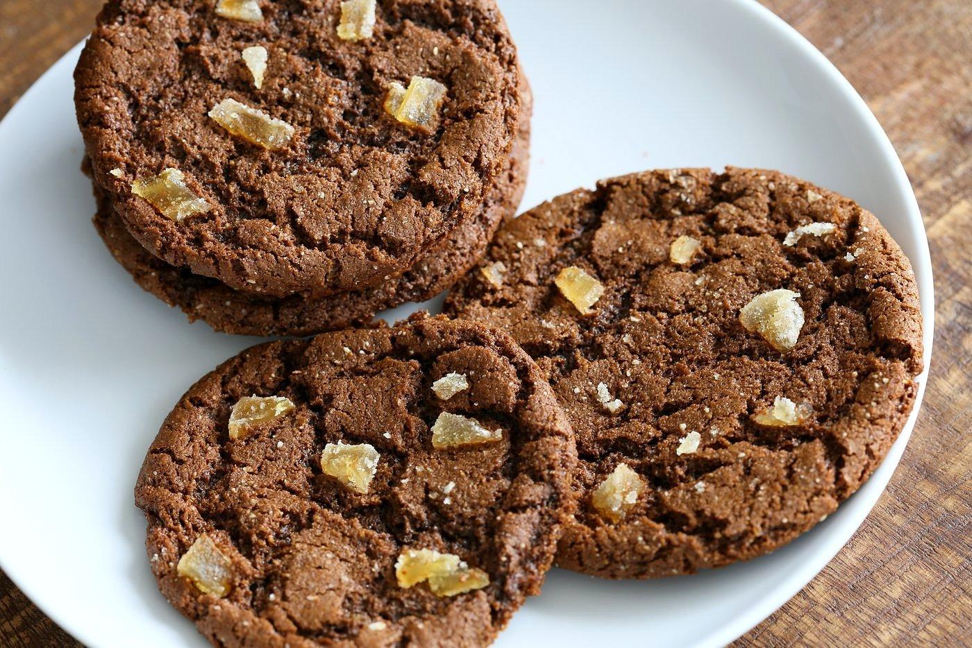 1 Bowl Molasses Cookie - Wheat | VeganRicha.com #vegan #cookie
