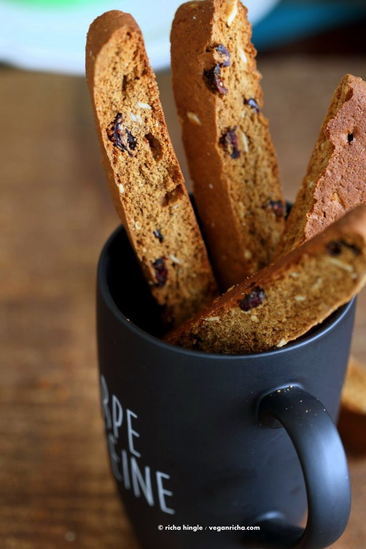 Double Dark-Chocolate And Ginger Biscotti Recipes — Dishmaps