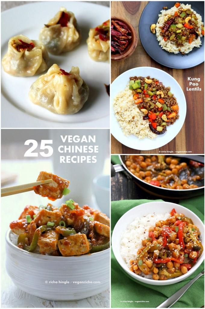 25 Vegan Chinese Recipes | VeganRicha.com #vegan #chinese #recipe