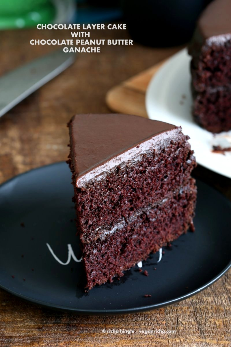 Vegan Flourless Eggless Chocolate Cake