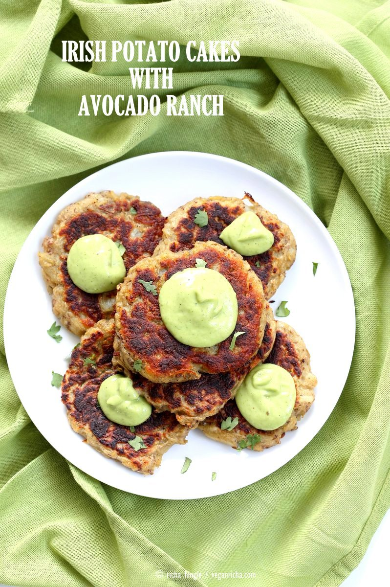 40 vegan party food recipes vegan richa traditional irish potato cakes known as boxty made eggless and vegan serve with avocado forumfinder