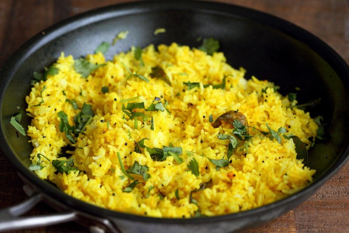 Image result for turmeric lemon rice cilantro