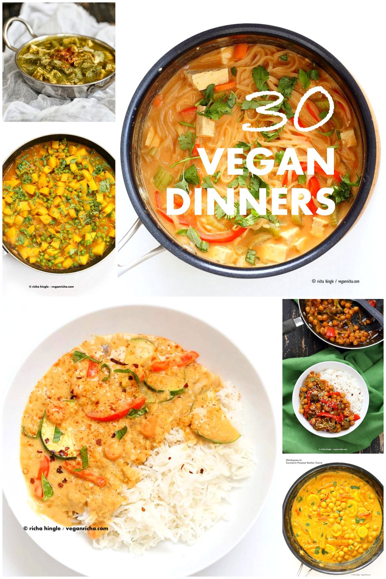 30 easy vegan dinner recipes vegan richa 30 easy vegan dinner recipes forumfinder Images