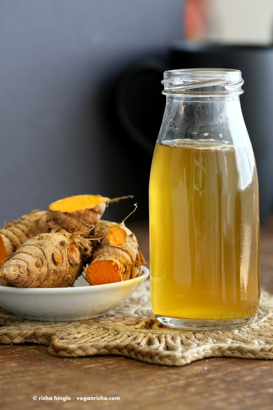 Ginger Turmeric Root Tea | Hot Tea Recipes To Beat The Cold Weather