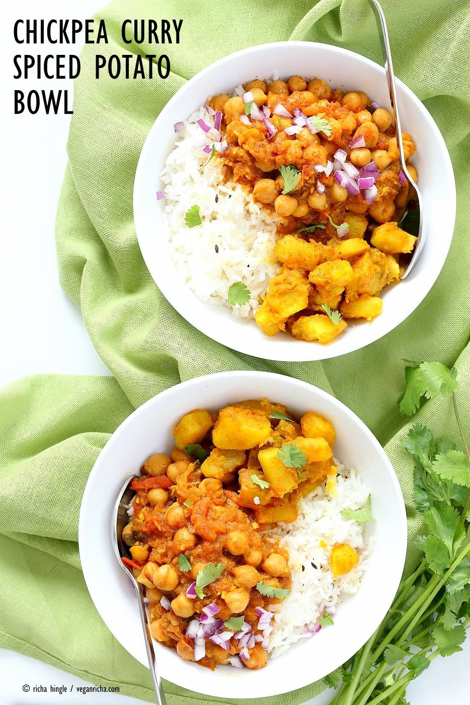Easy chickpea curry and spiced potato bowl vegan richa easy chickpea curry and spiced potato bowl forumfinder Choice Image
