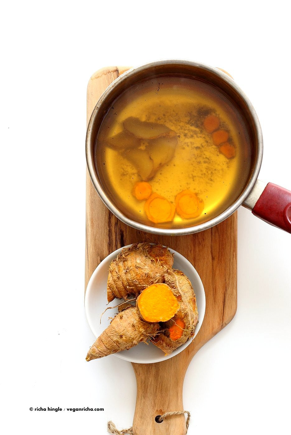 Here is this wonderfully healing and deliciously detoxifying recipe for  Turmeric Ginger Tea and a recipe video, it is so good, we had to post it on  my ...