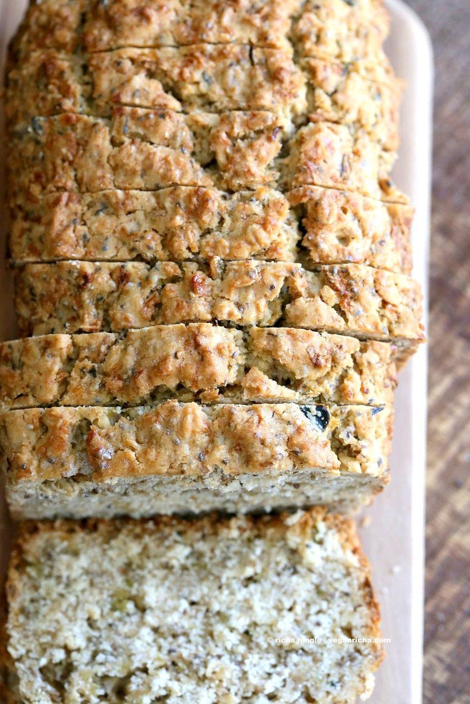 Vegan Gluten Free Zucchini Bread Recipe Vegan Richa
