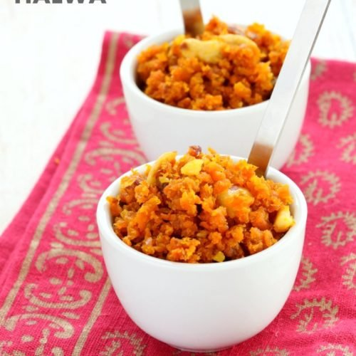 Vegan Carrot Halwa Gajar Halwa Recipe