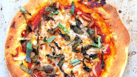 Vegan Deep Dish Pizza Recipe