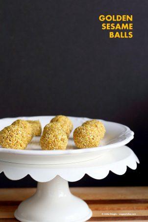 Golden Sesame Balls