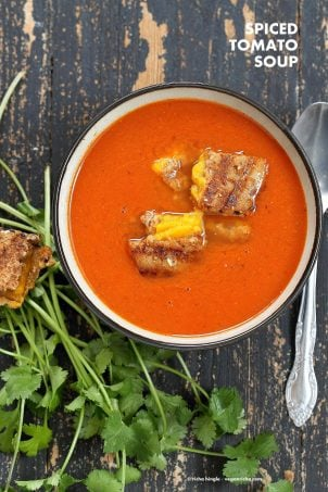 Spiced Tomato Soup Recipe – 20 Mins!
