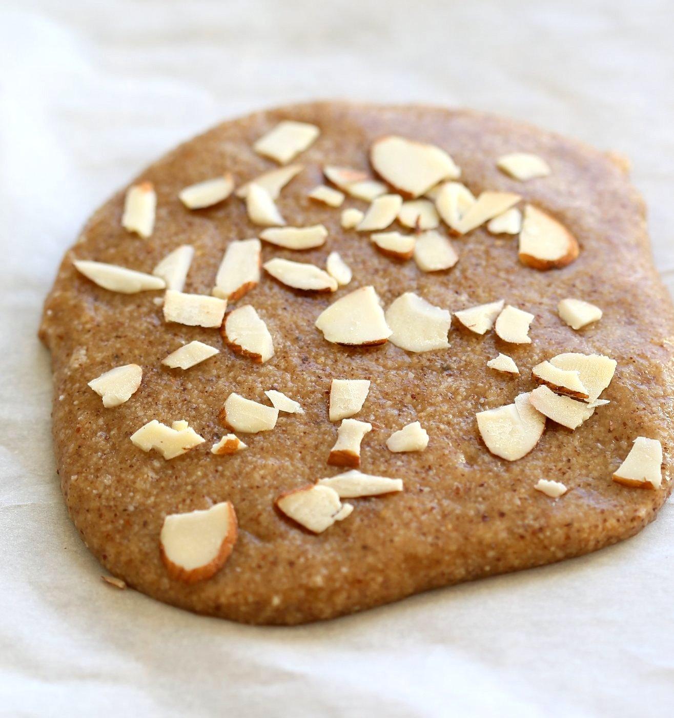 15 min Almond fudge with Cardamom and Basundi - thickened milk with saffron and nuts. Basundi or Rabri with almond milk. Indian Vegan Sweets for Diwali. | VeganRicha..com