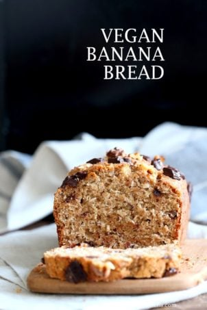 Vegan Banana Bread With Toasted Walnuts And Coconut 1