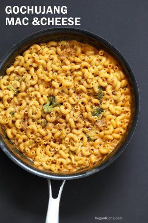 Garlicky Korean Mac and Cheese with Gochujang
