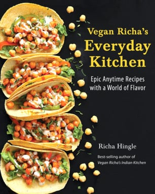 Vegan Richa's Everyday Kitchen Cookbook Now Available everywhere where Books are Sold | VeganRicha.com