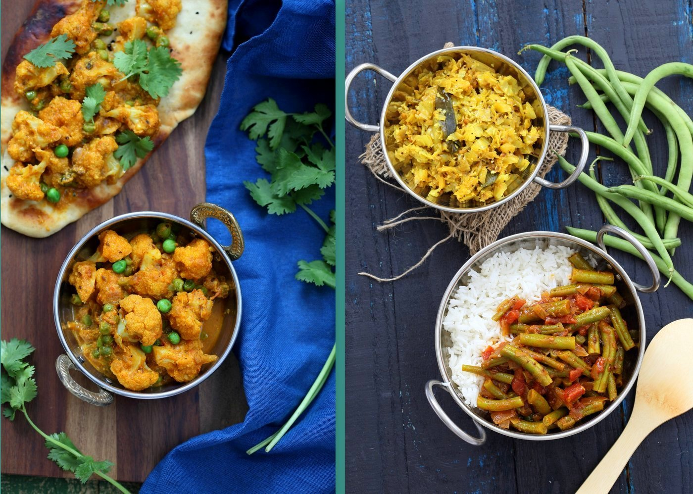 Vegan Richa's Indian Kitchen Veggie Sides Chapter