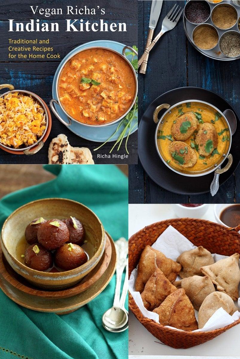 Vegan Richa's Indian Kitchen Cookbook   VeganRicha.com