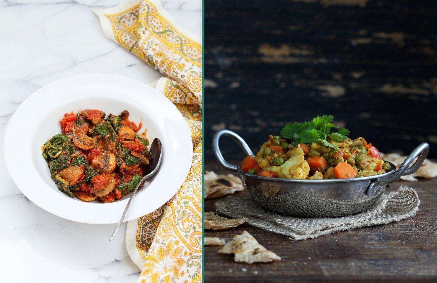 Vegan Richa's Indian Kitchen Veggie Sides Chapter