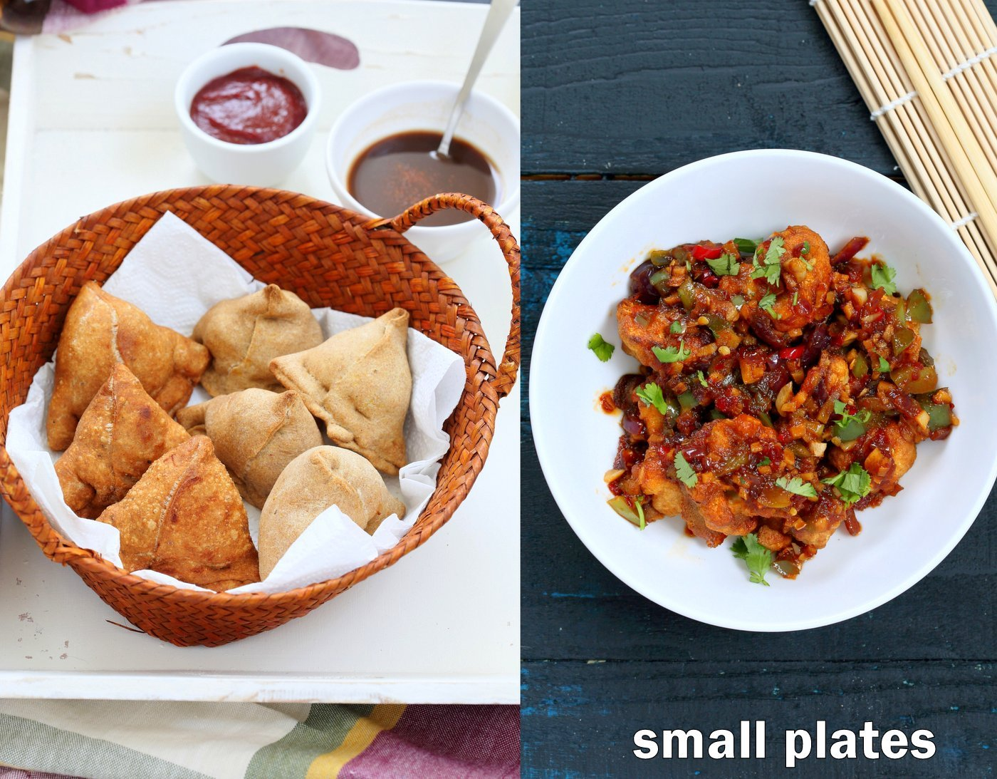 Vegan Richa's Indian Kitchen Snacks Chapter
