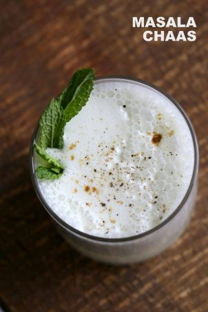 Indian Spiced Buttermilk Drink Vegan Chaas Recipe