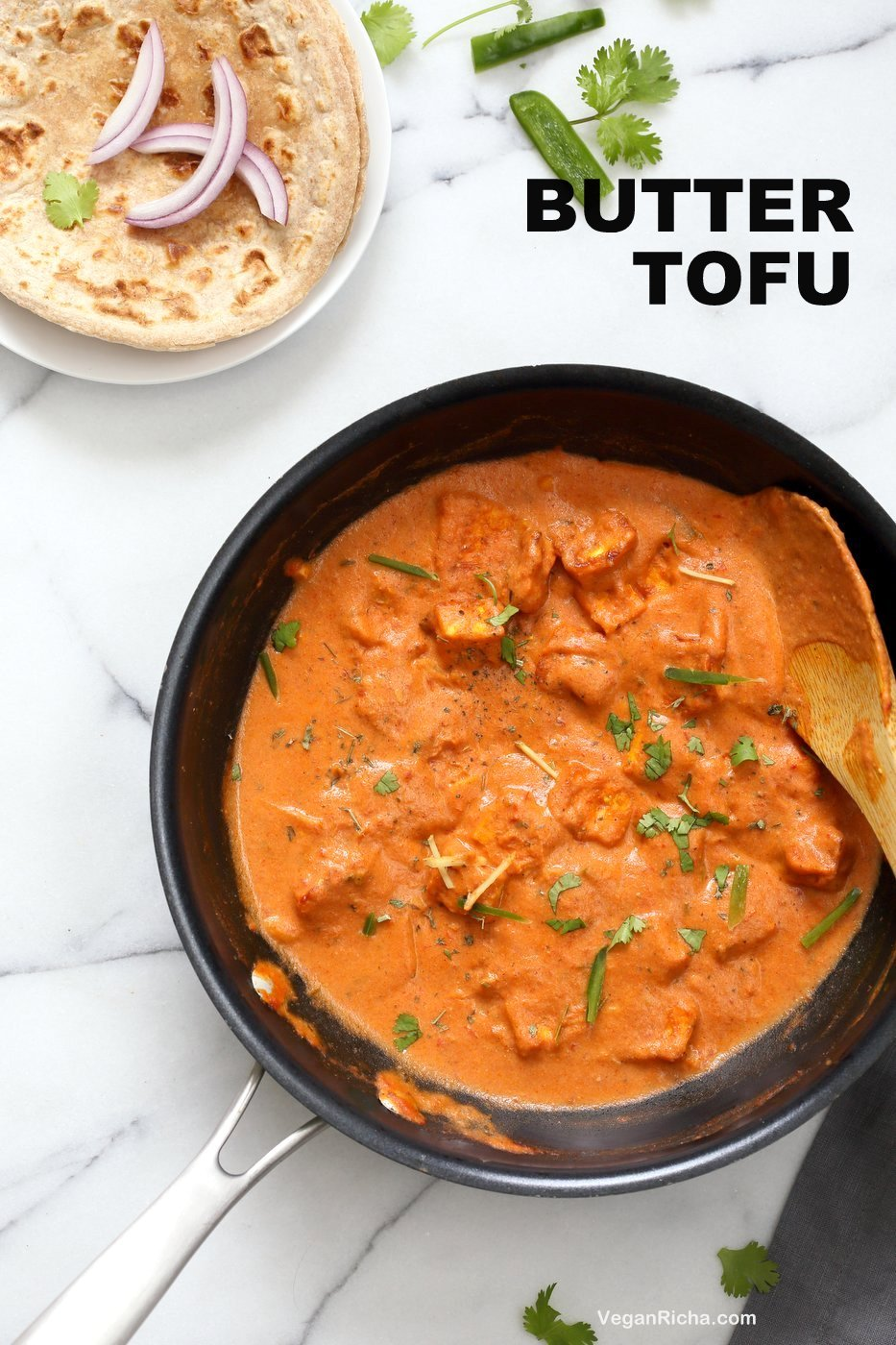 Indian butter tofu paneer tofu butter masala recipe vegan richa restaurant style tofu butter masala recipe indian butter tofu paneer dairy forumfinder Choice Image