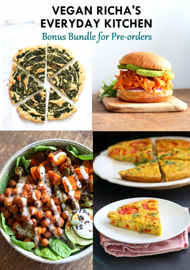 Vegan Richa's Everyday Kitchen Available Everywhere in the World | PREOrder and Get Free Goodies
