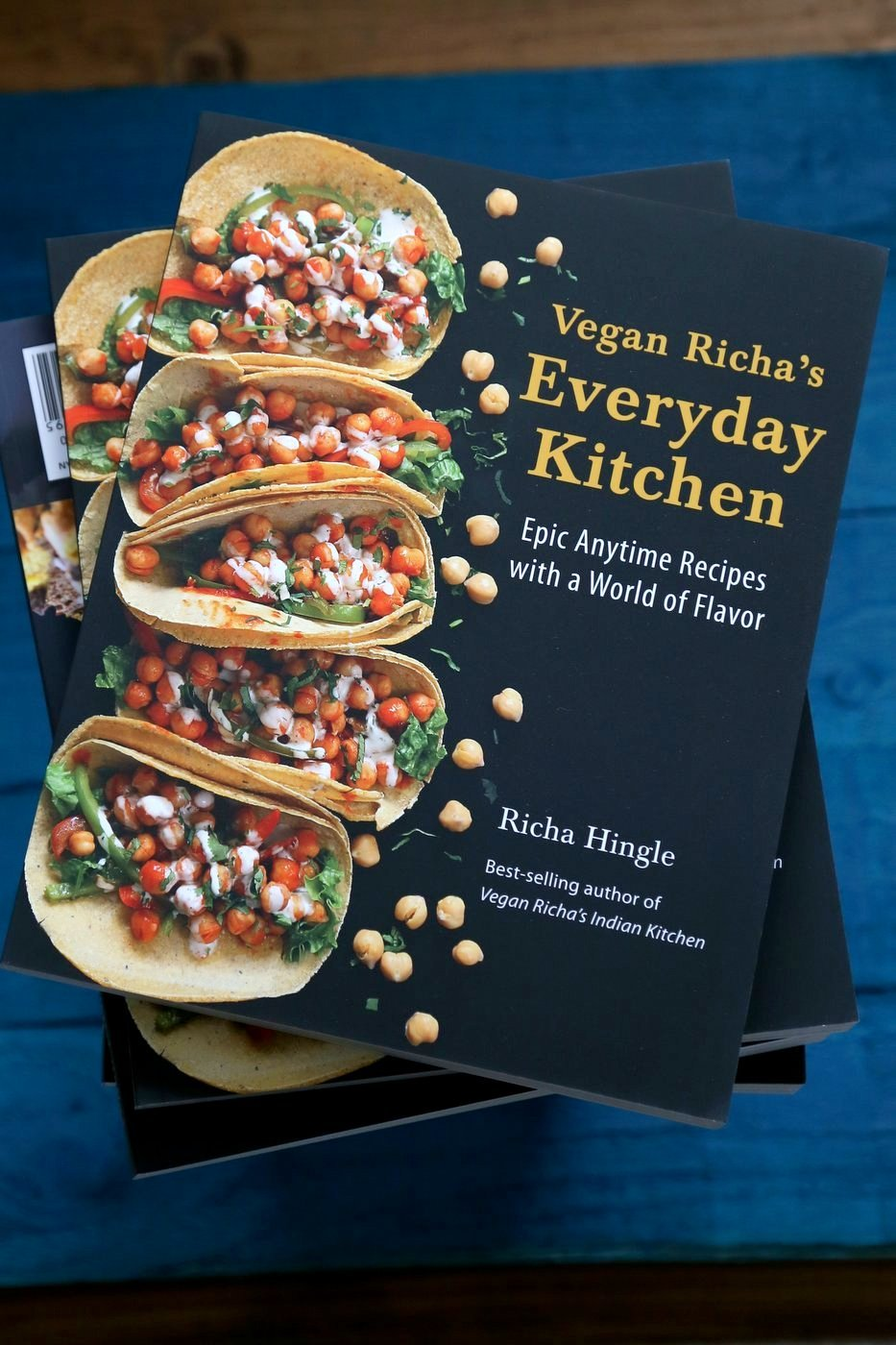 Vegan Richa's Everyday Kitchen Cookbook Available everywhere where Books are Sold