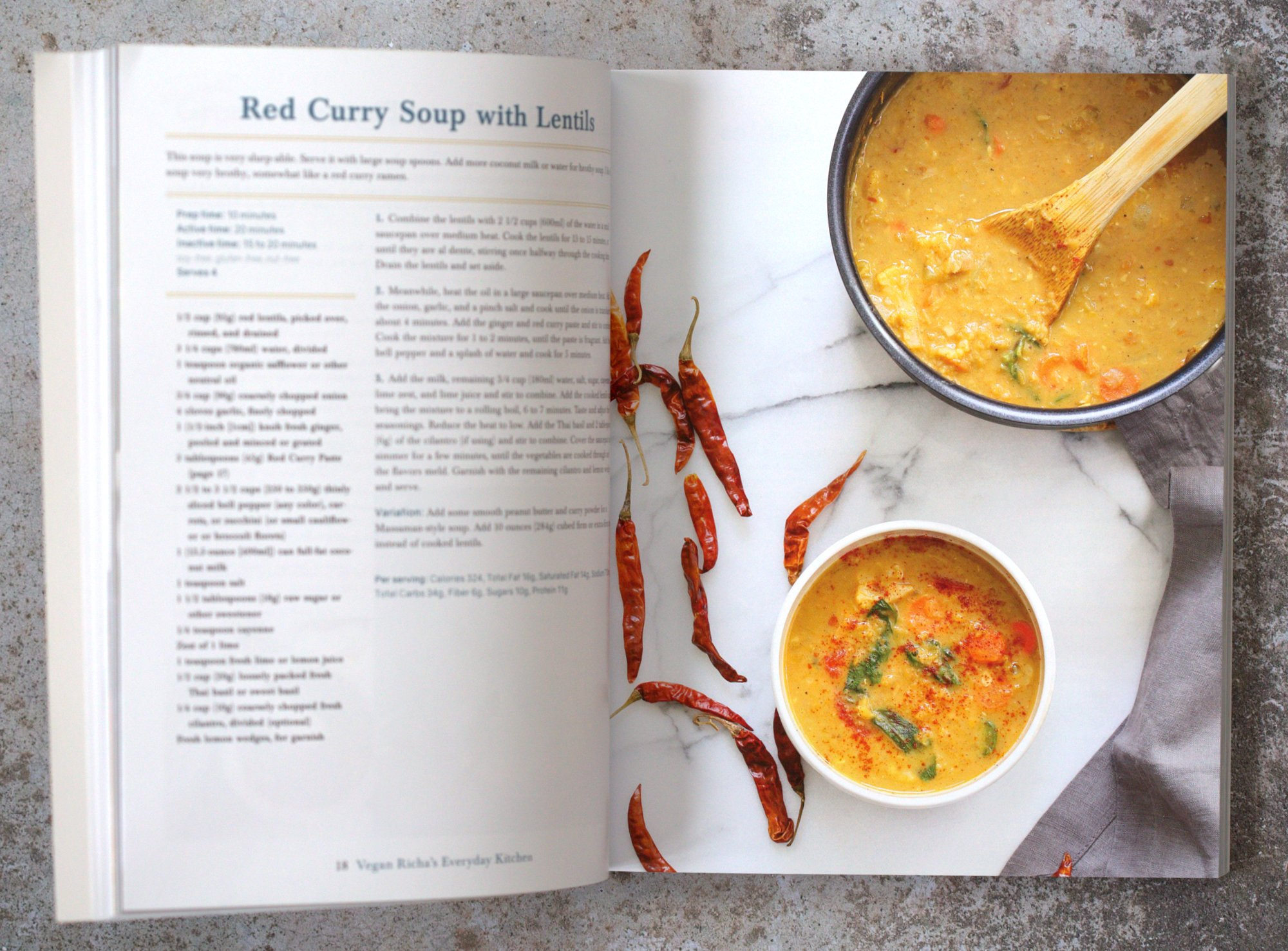 Red Curry with Lentils and Veggies from Vegan Richa's Everyday Kitchen