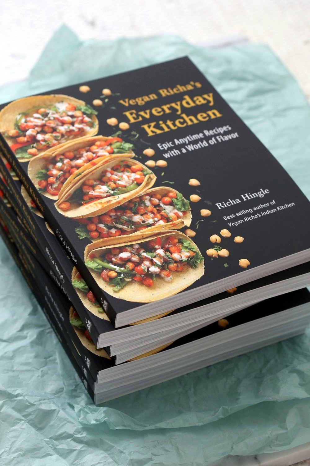 Vegan Richa's Everyday Kitchen! Available to Pre-order Everywhere where books are sold. Get Your Pre-order Bonus Today!