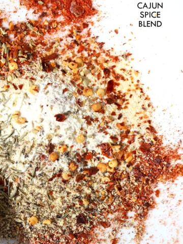 Cajun Spice Recipe. Make your own Cajun seasoning. How to make Cajun spice. Vegan Gluten-free Recipe   VeganRicha.com