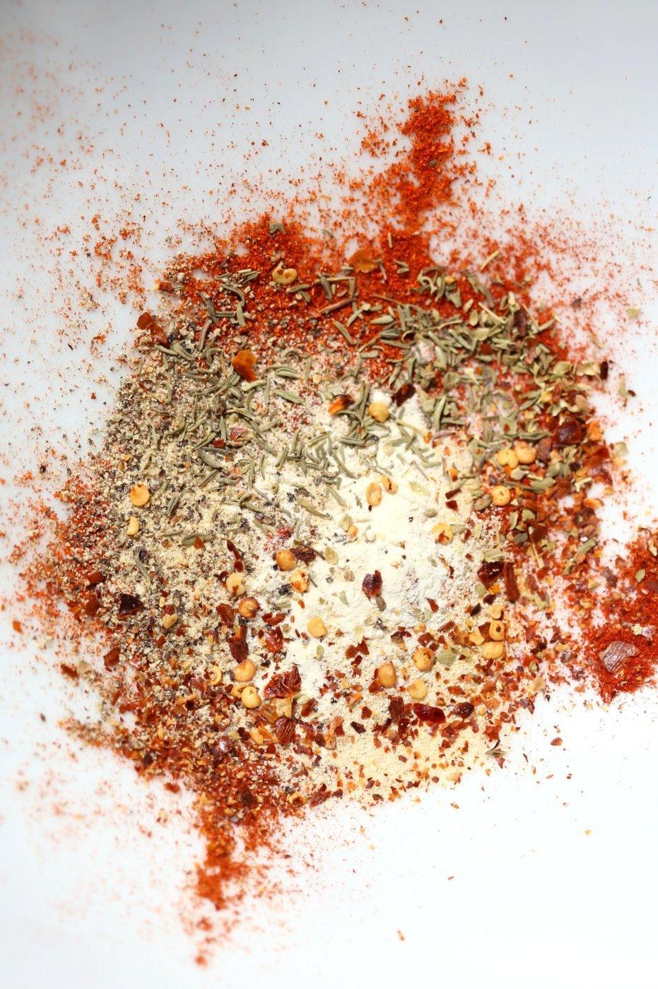 Cajun Spice Recipe. Make your own Cajun seasoning. How to make Cajun spice. Vegan Gluten-free Recipe | VeganRicha.com