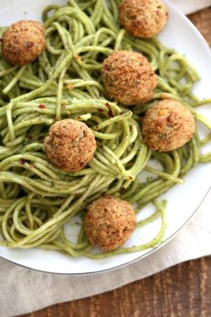 45 healthy vegan meals for veganuary vegan richa vegetarian chickpea walnut meatballs forumfinder Choice Image