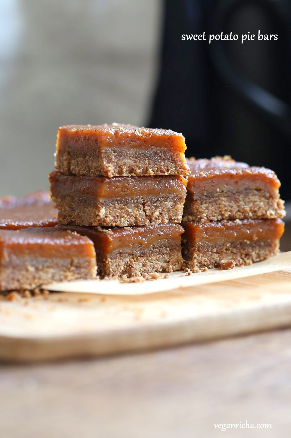 Vegan Sweet Potato Pie Bars - Vegan Richa