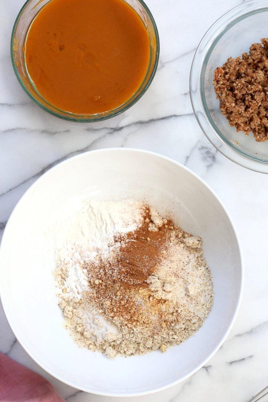 Pumpkin Crumb Bars Cake Mix