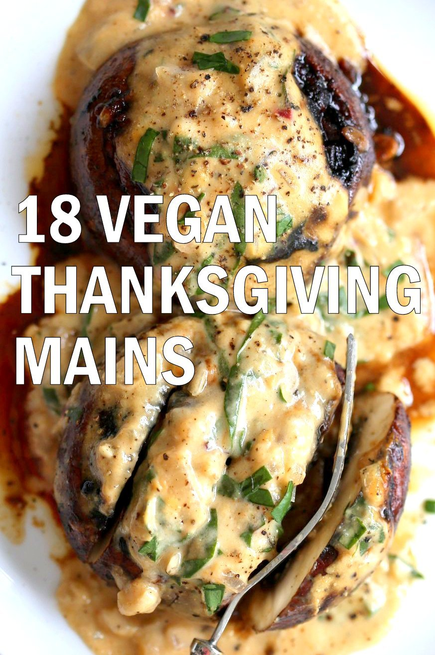 18 Vegan Thanksgiving Mains - Glutenfree Soyfree Options
