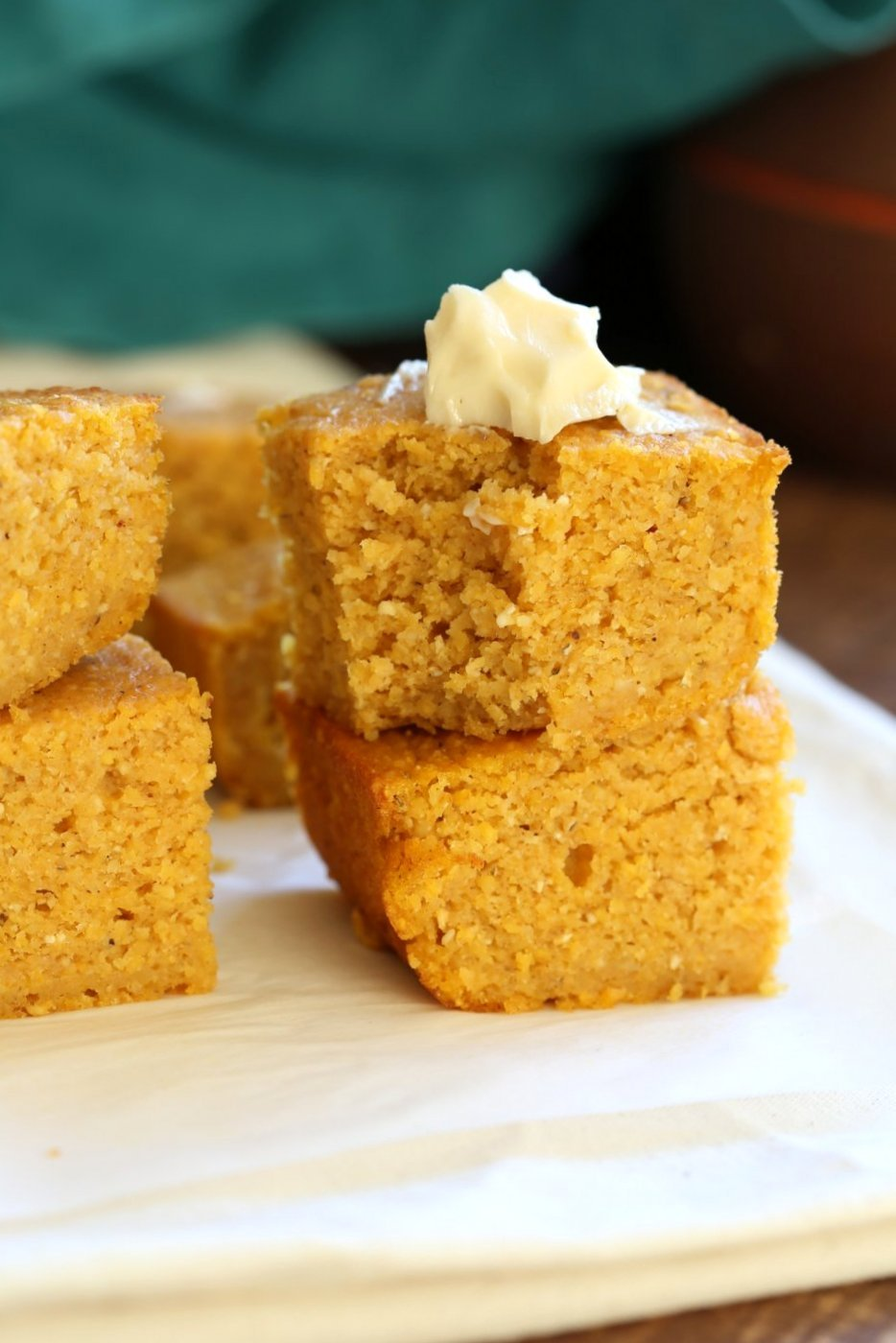 Vegan Pumpkin Cornbread 1 Bowl Vegan Richa