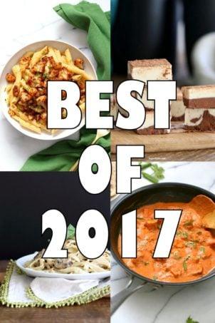 17 Best Vegan Recipes 2017