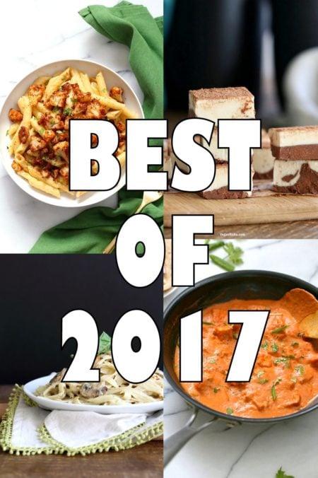 Best of 2017. 17 Popular recipes from VeganRicha.com #veganricha