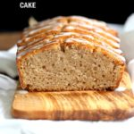 Amazing Vegan Eggnog Pound Cake. This Eggnog cake has no eggs, or dairy and is dense, cakey and full of winter flavor. Vegan Recipe.  #vegan #veganricha